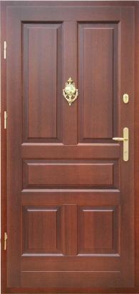 Drzwi zewnętrzne - DZ 6